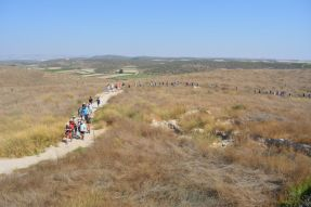 Explore the surrounds of Tel Azekah on Weekly Site Tours